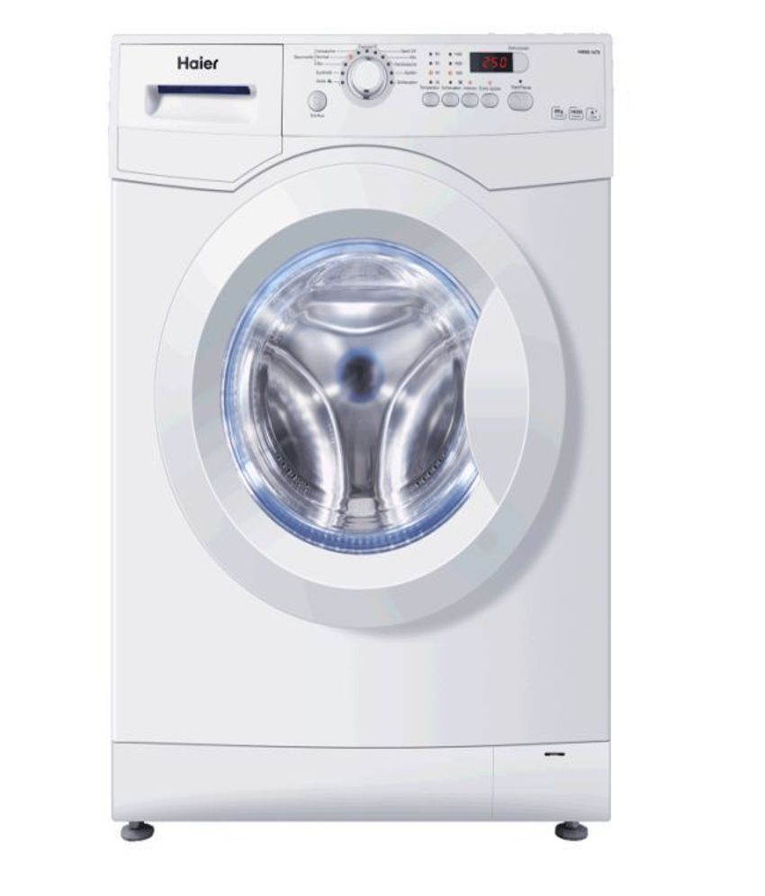Haier 6kg hw60 1279 fully automatic front load washing - Dimension standard machine a laver hublot ...