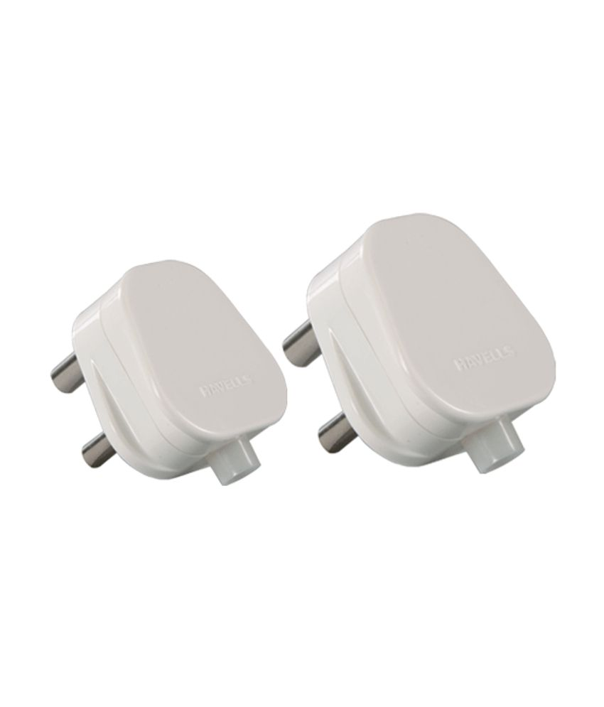 Buy Havells 6a 3 Pin Plug  Set Of 3  Online At Low Price