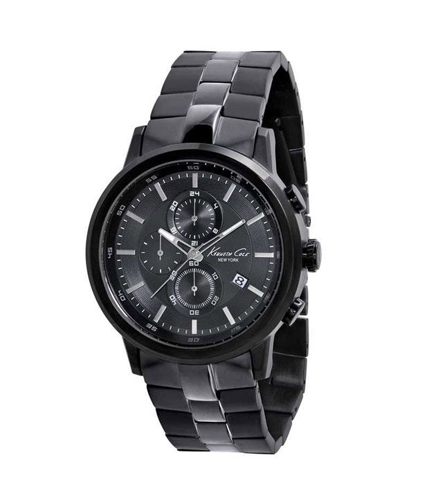 Kenneth Cole Kenneth Cole Black Men's Watch