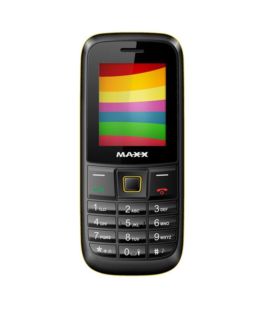 MAXX ARC MX101 BLACK YELLOW
