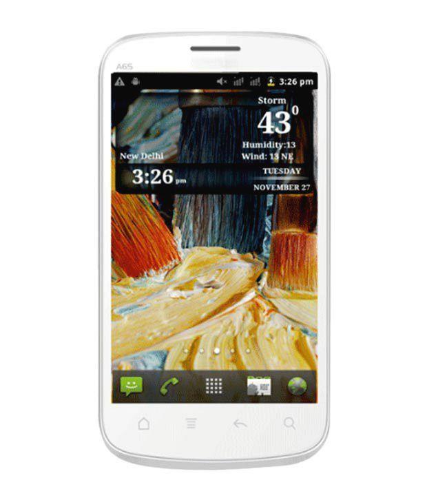 Micromax Smarty 4.3 A65 (White)