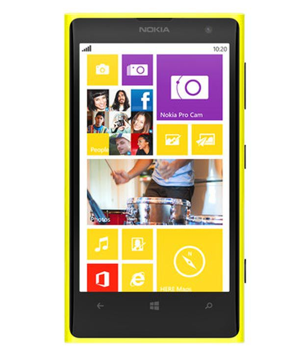 Nokia Lumia 1020 (Yellow)