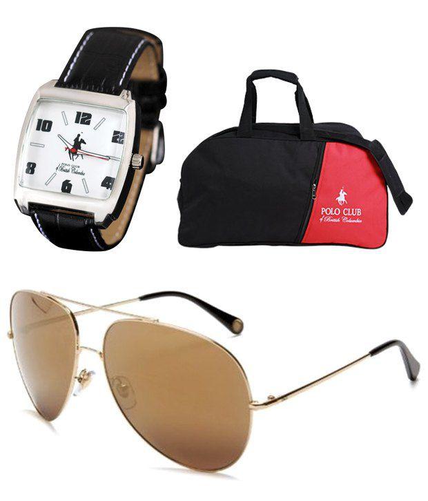 PCBC Watch - Duffle Bag - Sunglasses POSH Combo Offer