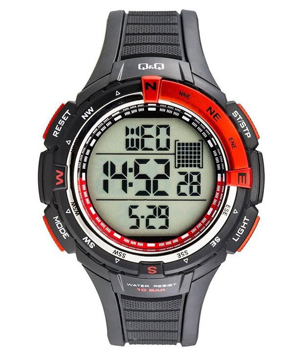 q q digital black watch for men m131j001y buy q q digital black q q digital black watch for men m131j001y