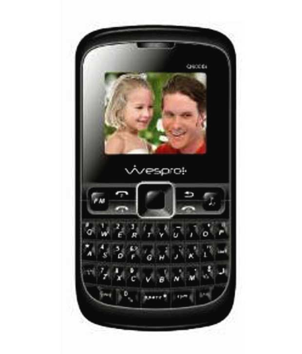 Wespro Dual SIM Qwerty Mobile-Q6000i