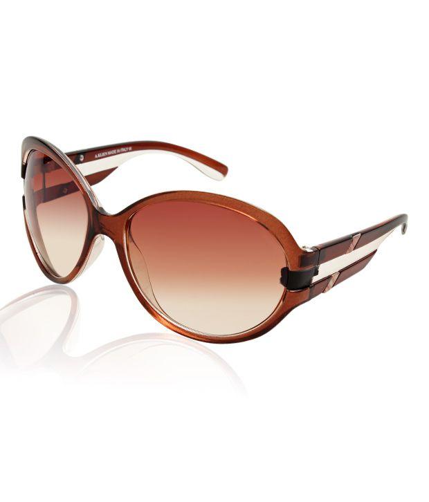 A.Klein Charming Brown Sunglasses