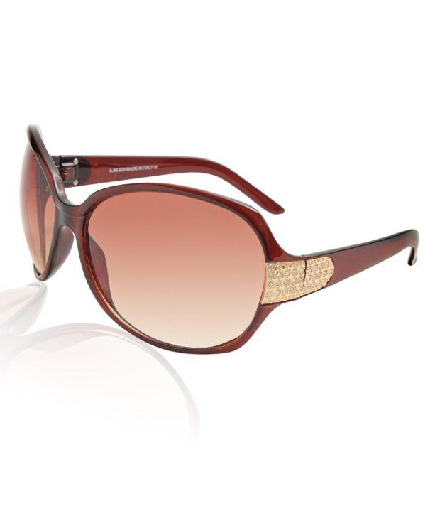 A.Klein Ravishing Brown Sunglasses