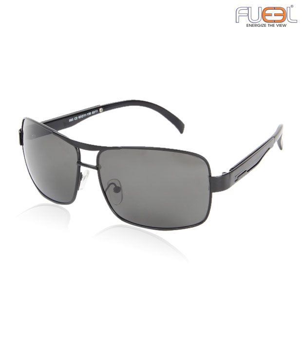 Fueel Stylish Frame Black Sunglasses