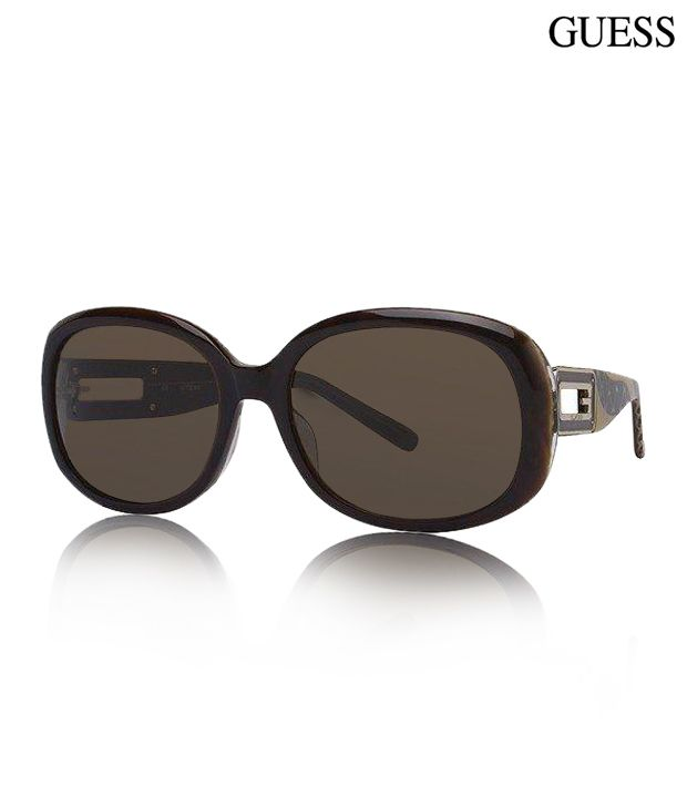 Guess  Bloomy Brown Sunglasses