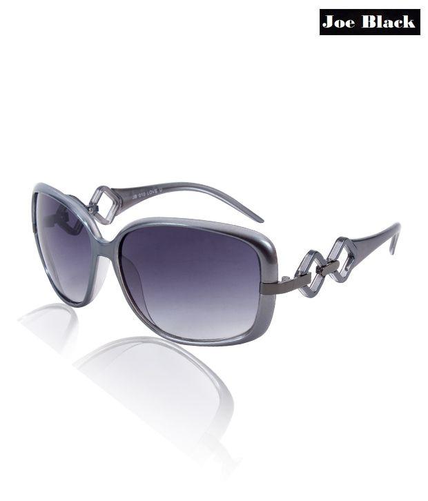 Joe Black Designer Temple Arm Sunglasses