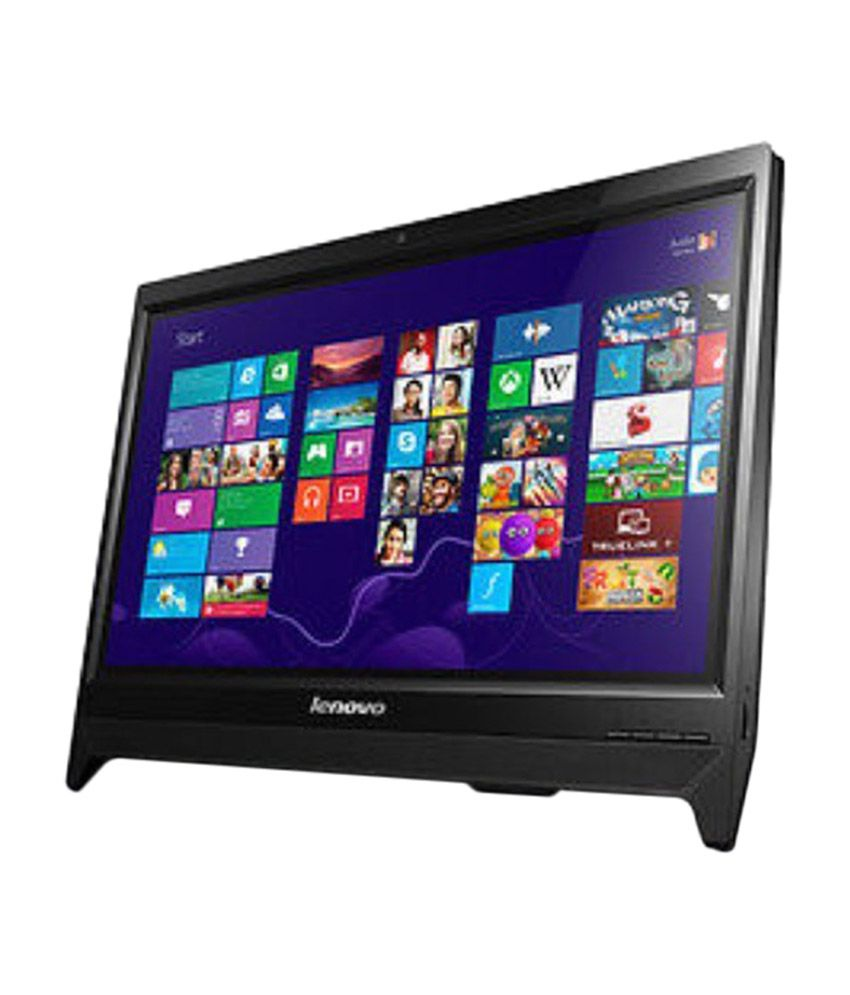 Lenovo C260 57 324793 All In One Desktop Intel Pentium 2 Gb Ram 500 Hdd 49 53 Cm 19 5 Dos Black Integrated Graphics Inbuilt 720p