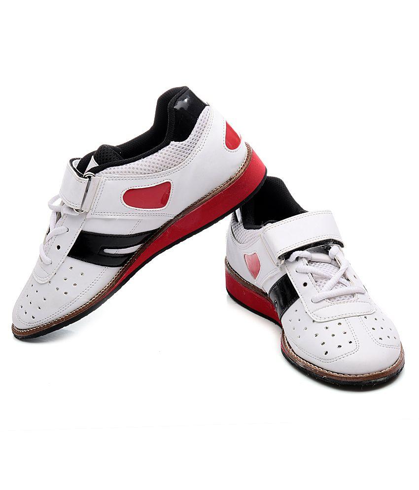 e9895c36ba34 RXN White Weightlifting Shoe - Buy RXN White Weightlifting Shoe ...