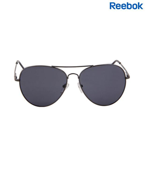 2b0aff244e Reebok Dapper Black Aviator Sunglasses - Buy Reebok Dapper Black ...