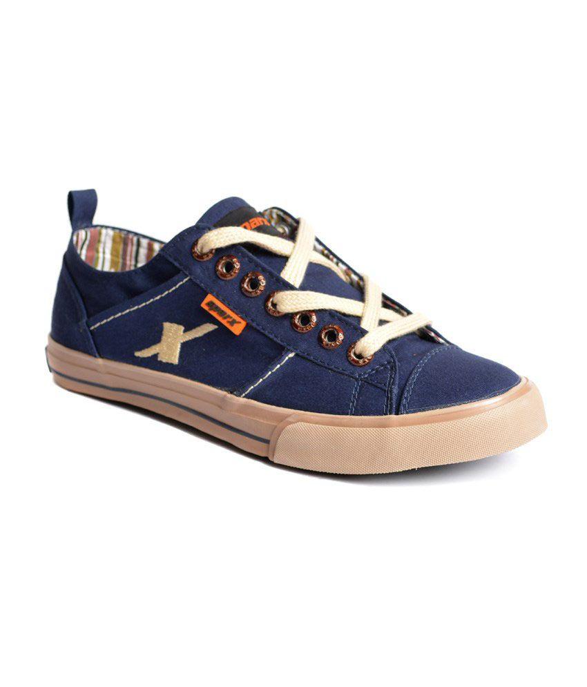 Sparx Blue Sneaker Shoes