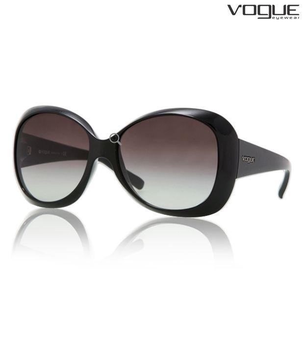 Vogue Bold Black Sunglasses