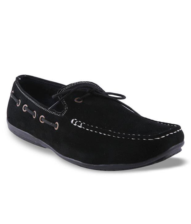Adam Step Black Loafers