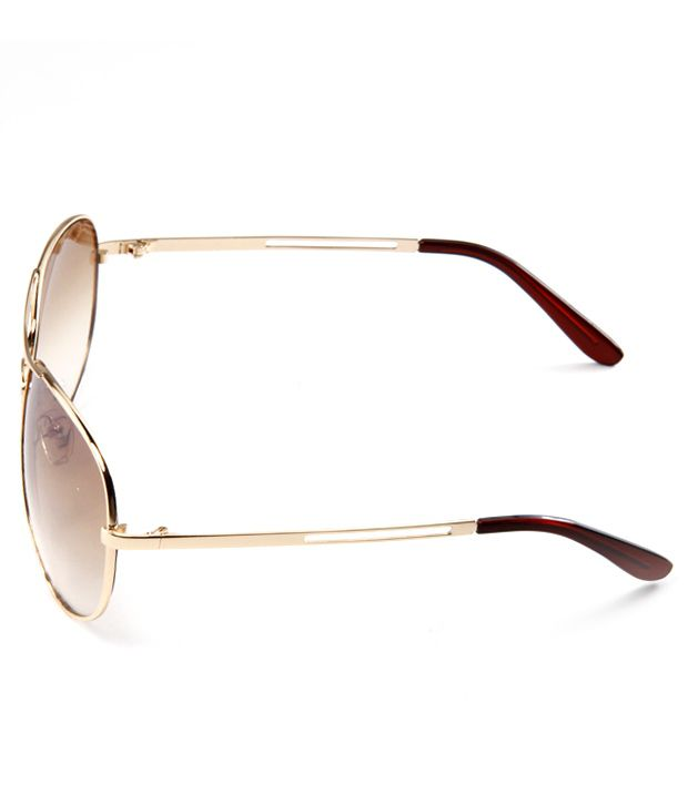 440f65e3a4 Crad Shining Aviator Golden Sunglasses Crad Shining Aviator Golden  Sunglasses ...