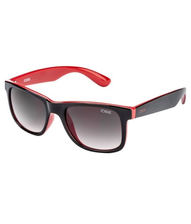 IDEE S1744-C6 Brown Gradient Lens Wayfarer Sunglasses