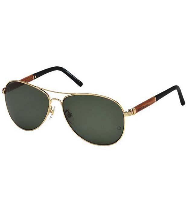 3f9b65d8dd8 Mont Blanc 409S-28R-61 Aviator Frame Men s Vogue Sunglasses - Buy Mont Blanc  409S-28R-61 Aviator Frame Men s Vogue Sunglasses Online at Low Price -  Snapdeal