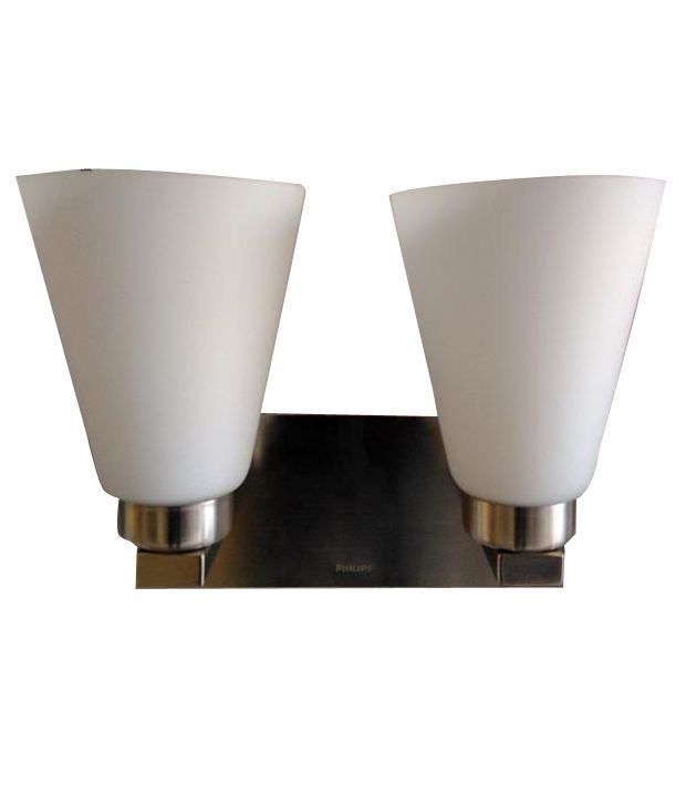 Wall Lamps Philips : Philips White 30981 Wall Lamp Brushed Nickel - Pack of 2: Buy Philips White 30981 Wall Lamp ...