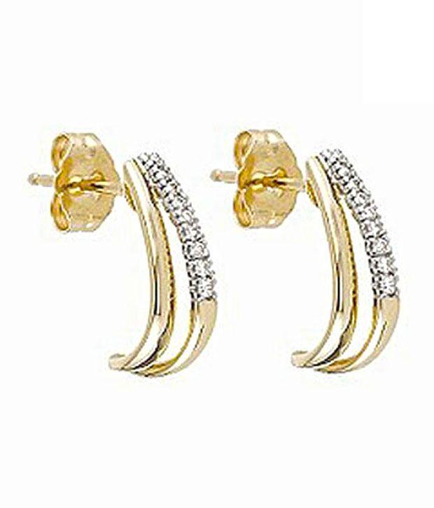 ag diamond designer curve earrings buy ag diamond