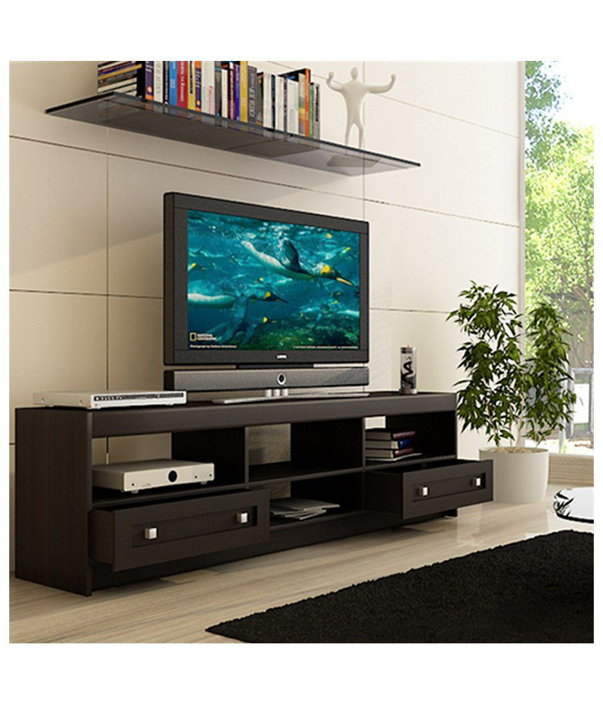 Housefull Brooke TV Cabinet in Wenge Finish
