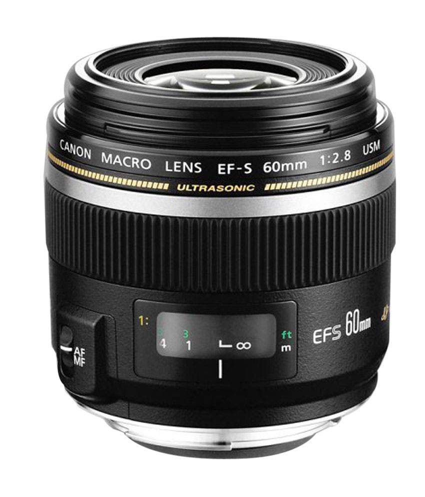 Canon Macro EF-S 60mm f/2.8 Macro USM Canon EF-S Only Lens