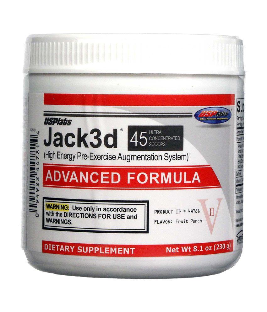 USP Labs Jack 3D 45 Serving: Buy USP Labs Jack 3D 45