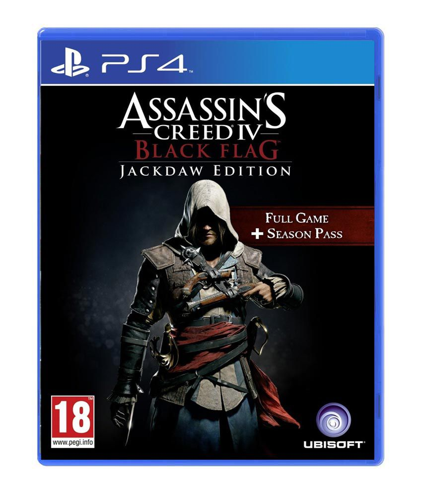 Buy Assassin S Creed Iv Black Flag Jackdaw Edition Ps4 Online At