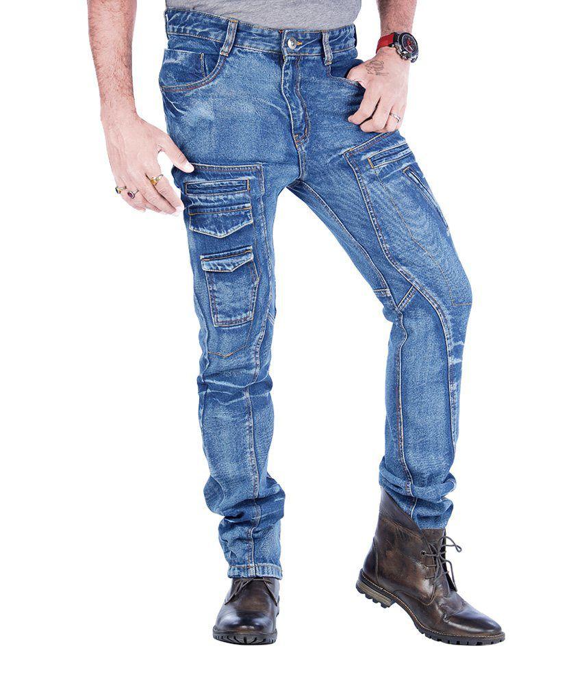 Uber Urban Blue Regular  Jeans