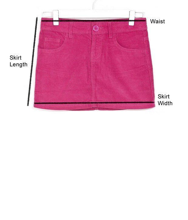 Peppy Corduroy Skirt For Infant Girls