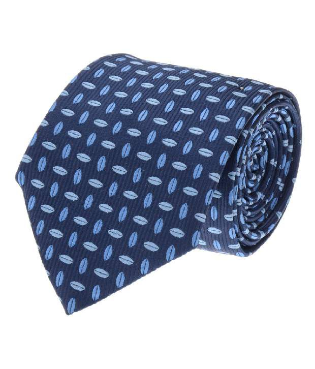 Tossido Blue Micro Fiber Formal Men Tie