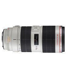 Canon -EF 70-200mm f/4L IS USM Lens