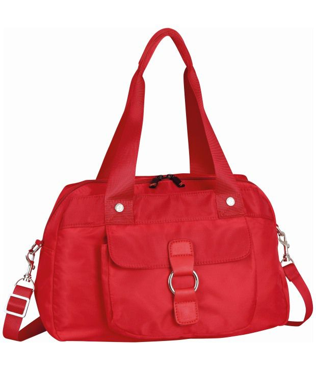 Fastrack A0332NRD01 Red Satchel Bag