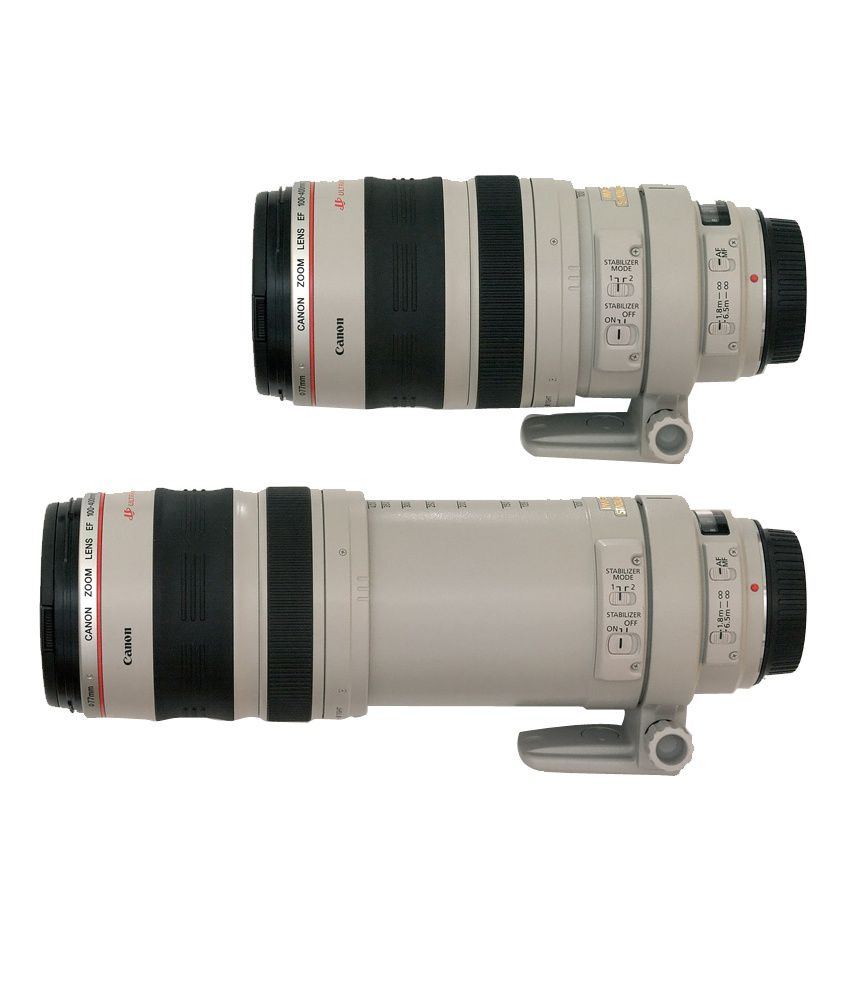 canon ef 100 400mm f 4 5 5 6l is usm lens price in india