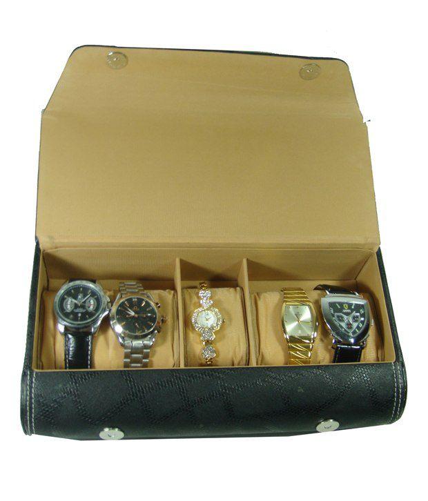 Essart WR-2Black Black Watch Cases