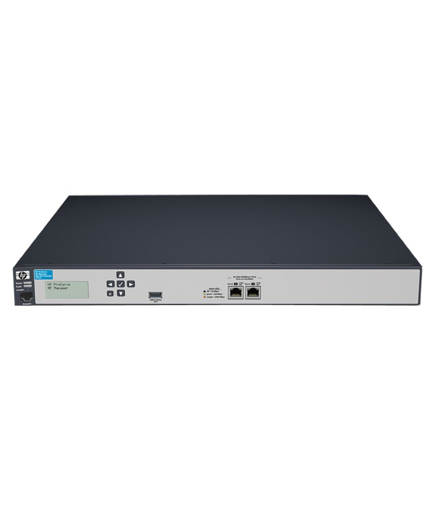 HP RF Manager Controller with 50-sensor License (J9521A)