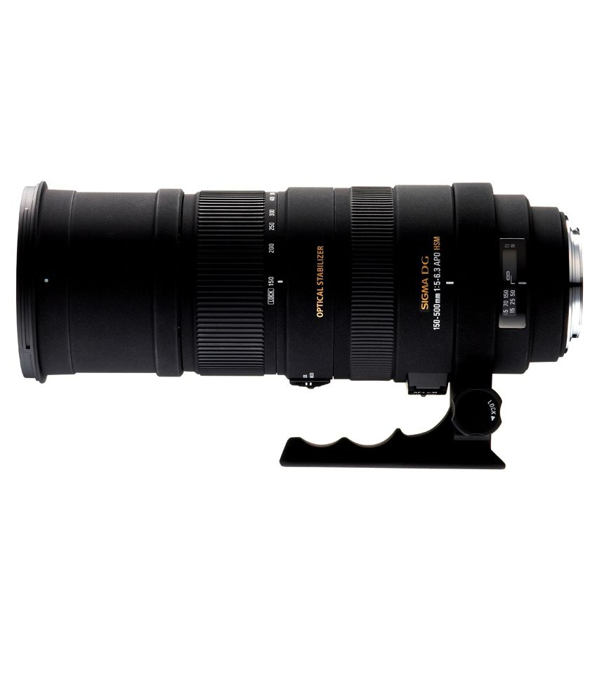SIGMA 150-500/5-6.3 DG OS HSM  FOR NIKON