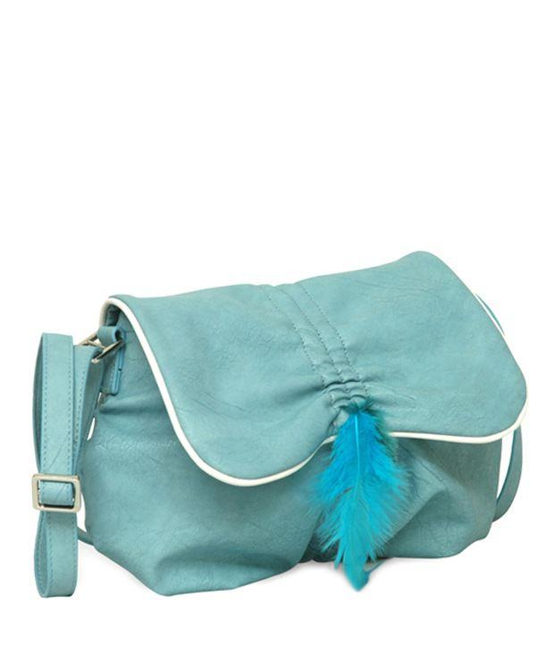 Baggit 2177920421302 L GYPSY BAND BLUE Sling Bag - Buy Baggit ...