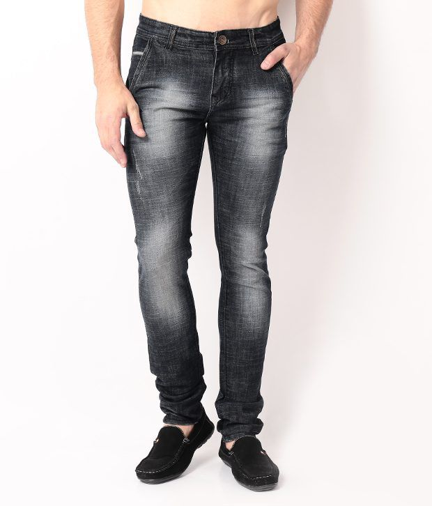 DesignRoadies Black Slim  Jeans