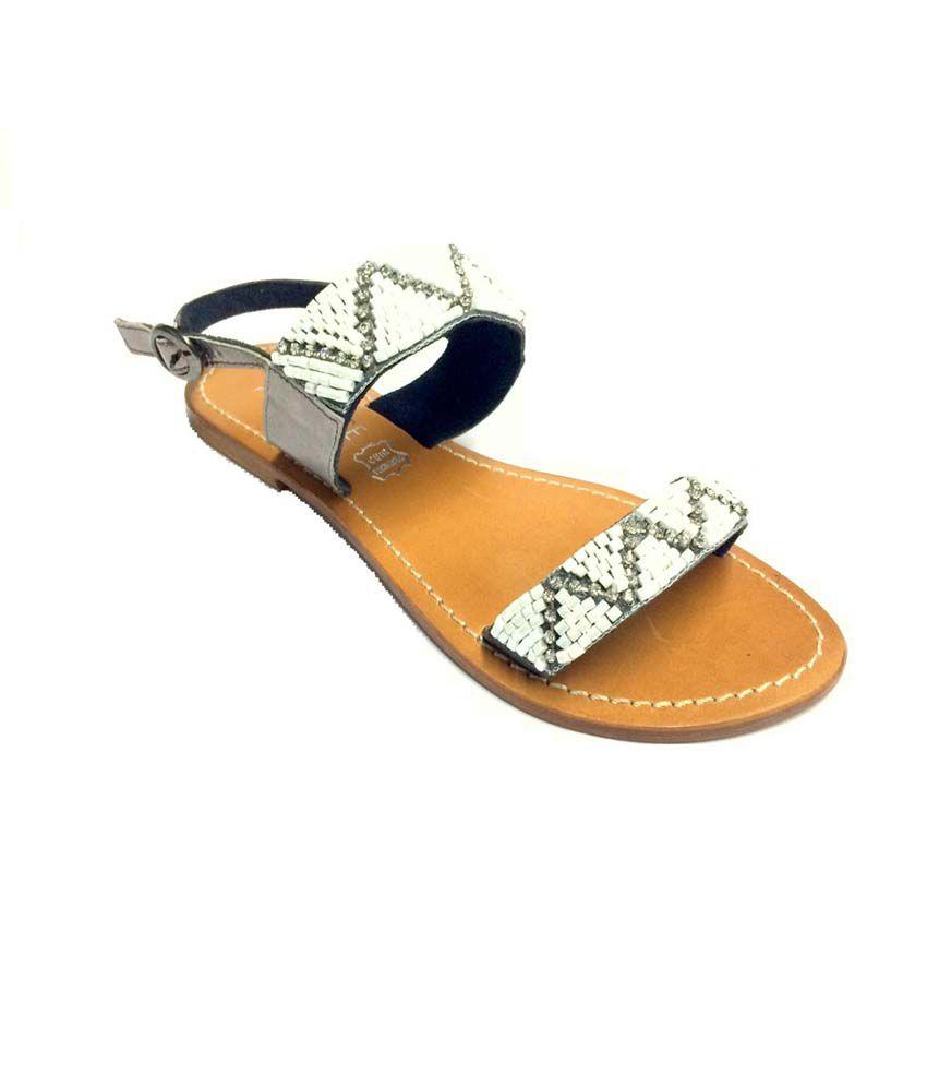 Eve Dior Gray Sandal