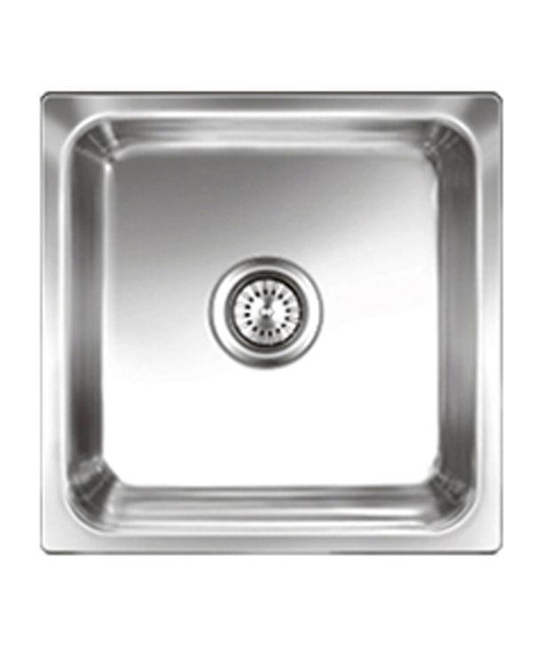 Buy nirali kitchen sink single bowl omni small satin online at low nirali kitchen sink single bowl omni small satin workwithnaturefo