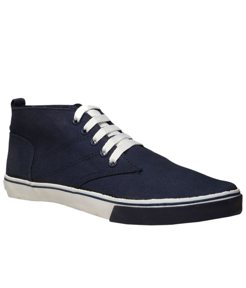 North Star Blue Canvas Shoes North