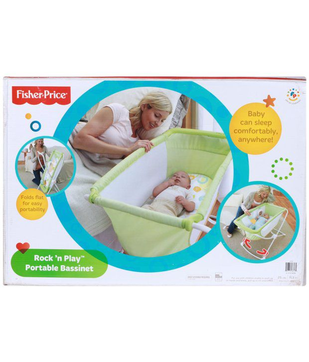 Fisher Price Rock N Play Portable Bassinet Multi Color Buy Fisher