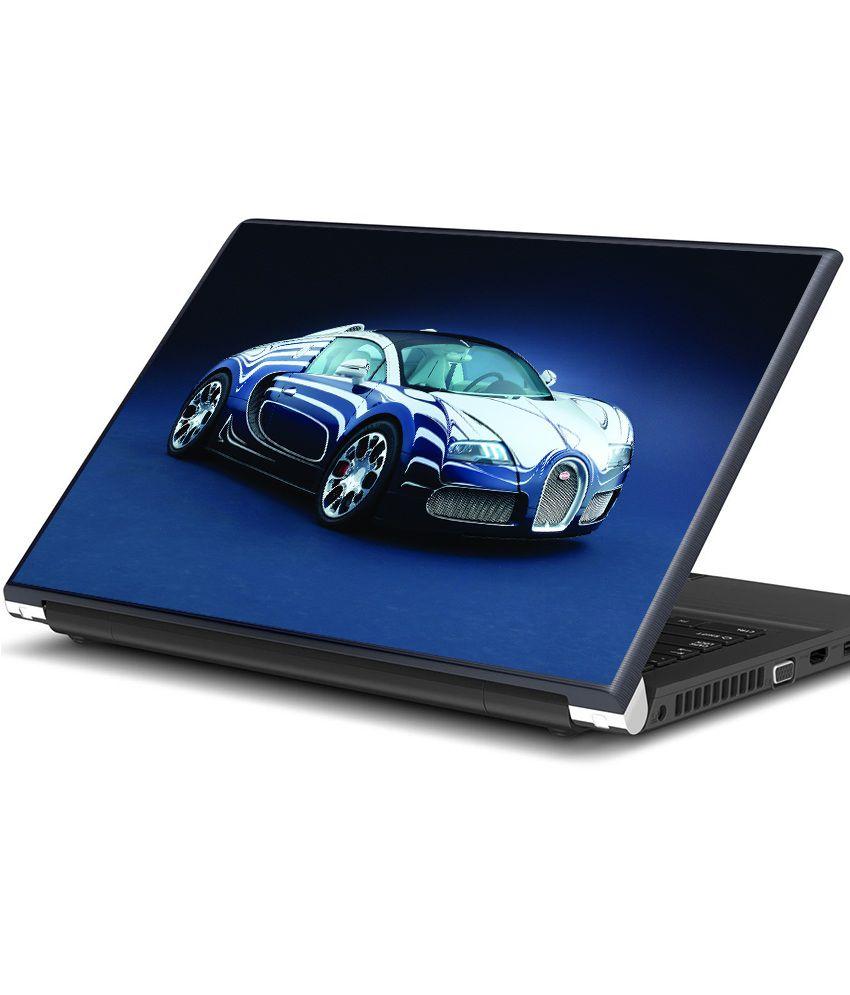 artifa bugatti supercar laptop skin best price in india on. Black Bedroom Furniture Sets. Home Design Ideas