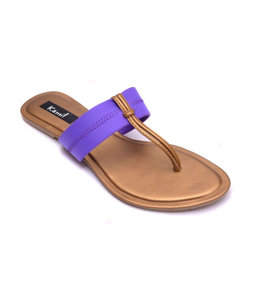 Kamil Purple Flat