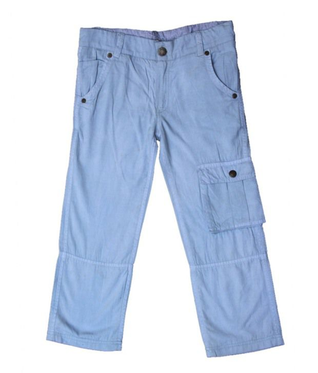Gron Stockholm Blue Capris  For Girls