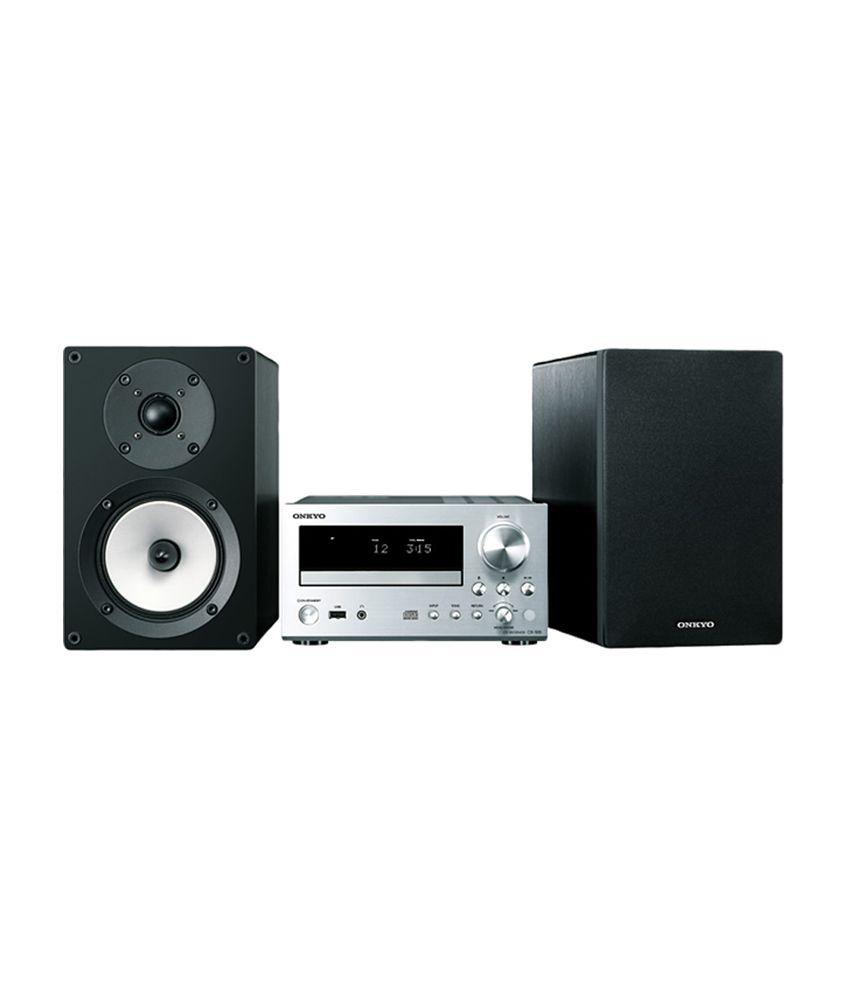 Buy Onkyo CS-555 CD Hi-Fi Mini System (Silver and Black) Online at