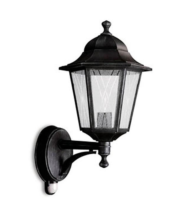 Philips - 15338 Wall Lantern Grey 1 X 60W 230V