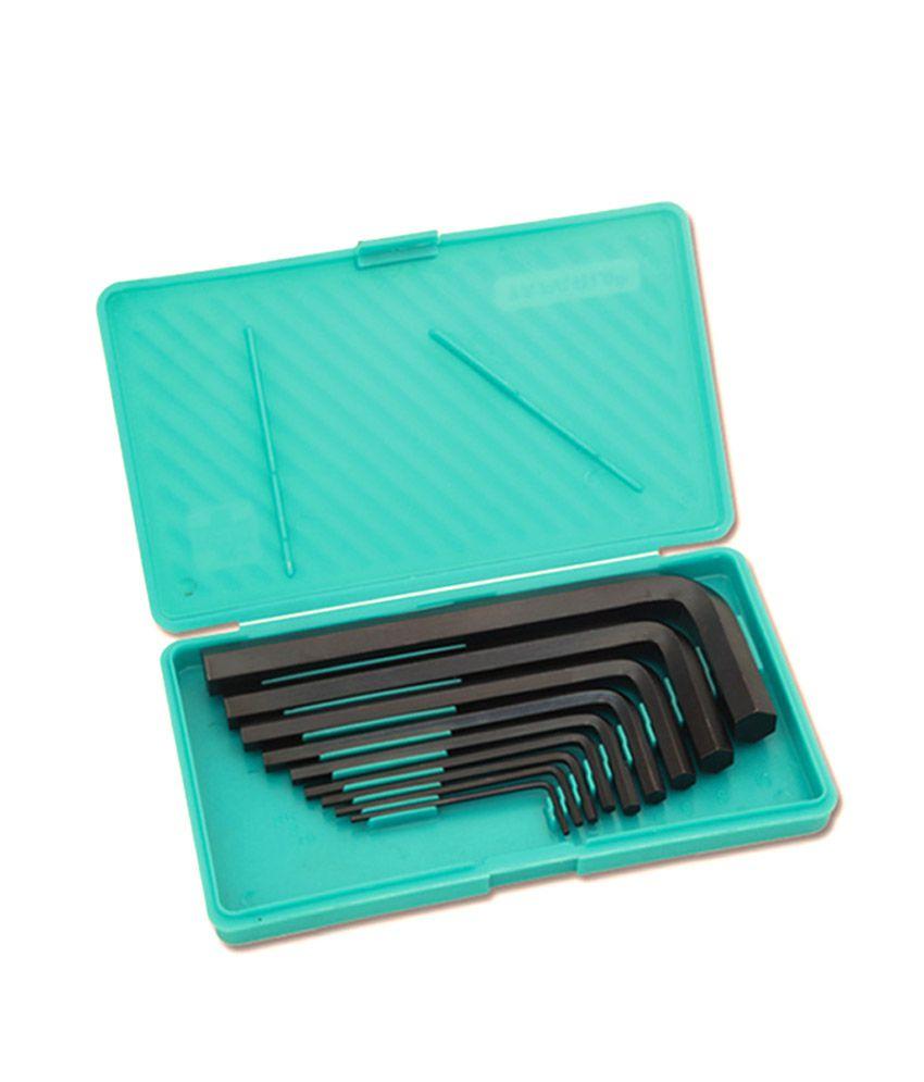 taparia hand tool sets allen key set pack of 9 buy taparia hand tool sets allen key set pack. Black Bedroom Furniture Sets. Home Design Ideas